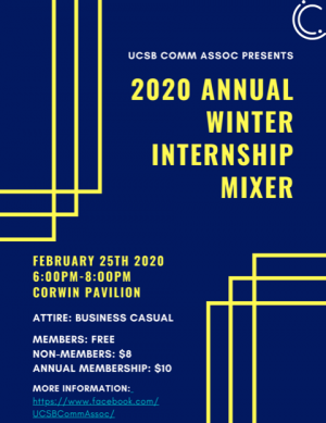 Winter 2020 Internship Mixer