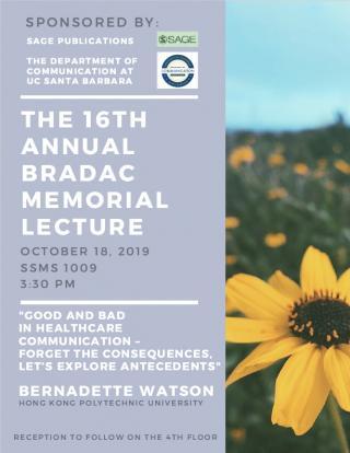 Bradac Lecture 2019